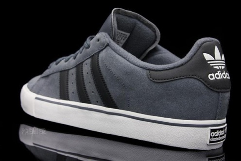 adidas Campus Vulc - Lead/Black
