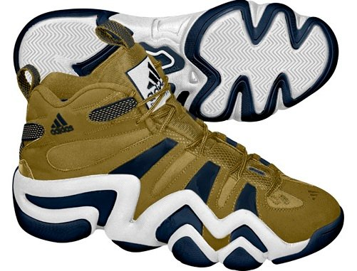 adidas Crazy 8 - Gold/Navy/White