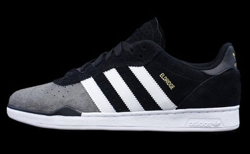 adidas Skateboarding Ronan - Black/White-Iron