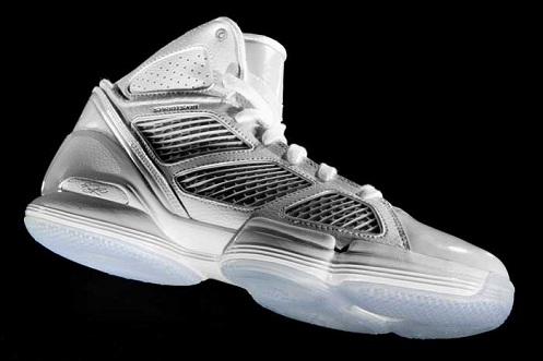 adidas adiZero Rose 1.5 - White/Light Grey