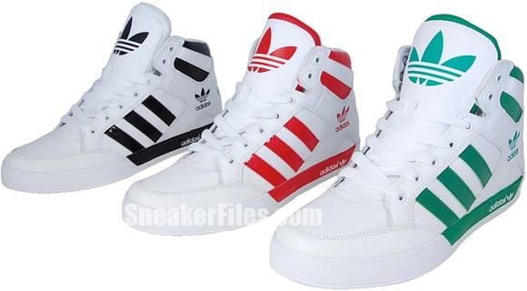Adidas Originals Hard Court High Adicolor Pack
