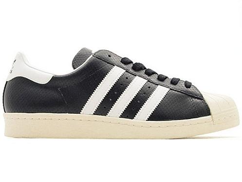 atmos x adidas Originals Superstar 80s - Black Croc GID