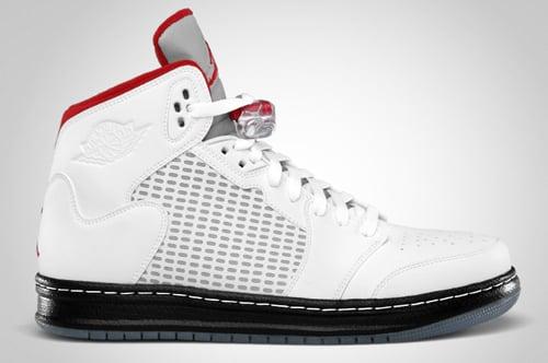 check out 03011 8b191 Air-Jordan-Prime-5-White-Red-Black