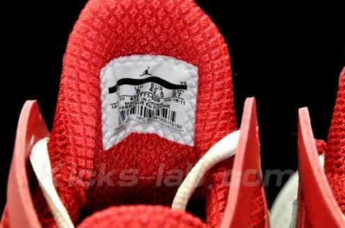 Air Jordan 2011 Grey/Red/White - A Closer Look