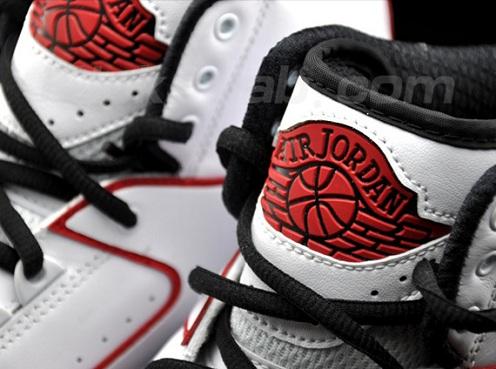 Air Jordan II (2) Max White/Black-Varsity Red - More Images