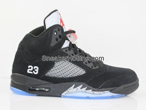Air Jordan Retro V (5) Black/Metallic Silver - New Images