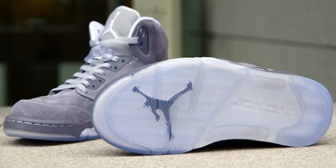 "Air Jordan Retro V (5) ""Wolf Grey"" - More Images"