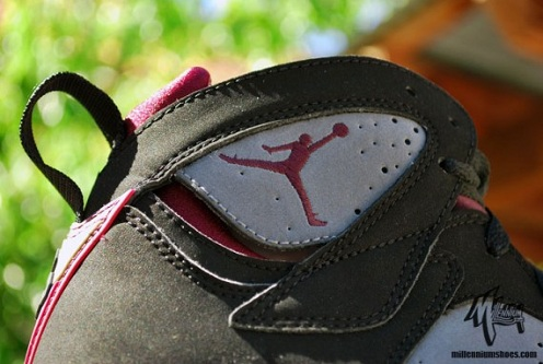 "Air Jordan Retro VII (7) ""Bordeaux"" - A Closer Look"