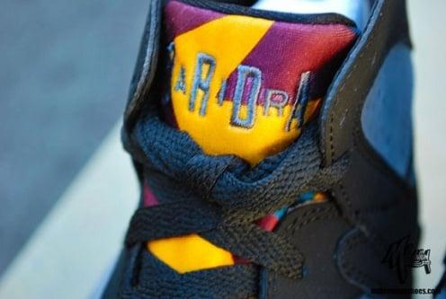 """Air Jordan Retro VII (7) """"Bordeaux"""" - A Closer Look"""
