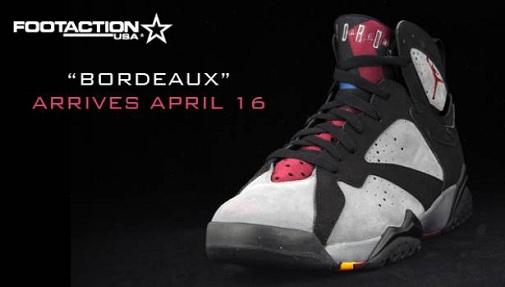 Air Jordan Retro VII (7) Bordeaux Footaction Release Parties