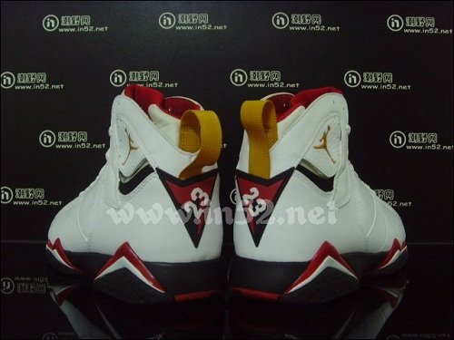 "Air Jordan Retro VII (7) ""Cardinal"" - More Images"