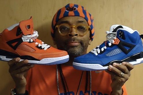 """Air Jordan Spizike - Spike Lee NYK """"PEs"""""""
