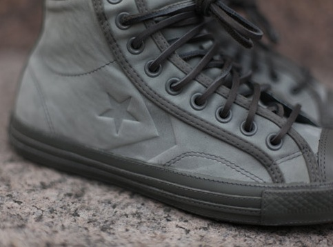 Converse Star Player 75 High Deluxe (by Ronnie Fieg) - Grey Leather