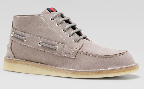 Gucci Boat Shoe Mid - Spring/Summer 2011