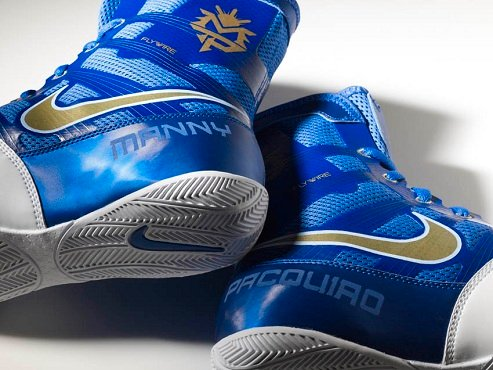 Manny Pacquiao's Nike Ring Boot