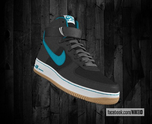 Nike Air Force 1 Gets Nike iD Gum Outsole Option