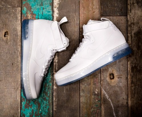 "Nike Air Force 1 High Foamposite ""White Pack"" - A Closer Look"