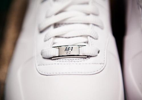 "Nike Air Force 1 High Foamposite ""White Pack"" - A Closer Look"