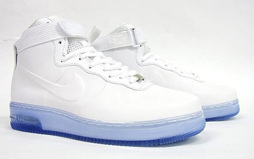 Nike Air Force 1 High Foamposite - White/White