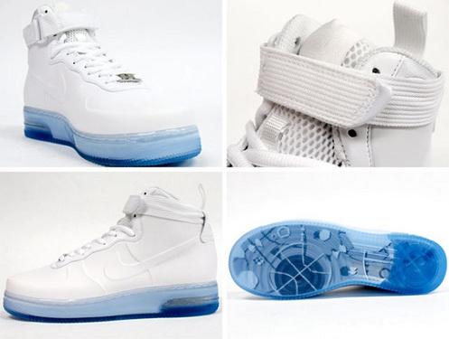 Nike Air Force 1 High Foamposite - White/White