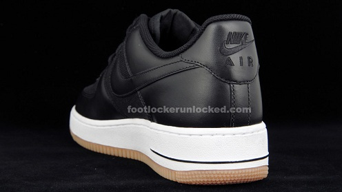 Nike Air Force 1 Low - Black/White-Gum