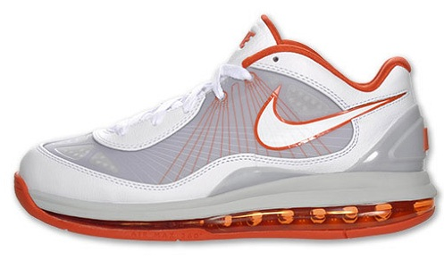 Nike Air Max 360 BB Low White/Orange Available Now