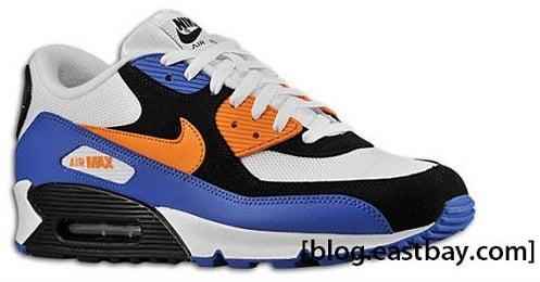 Nike Air Max 90 - White/Bright Mandarin-Black
