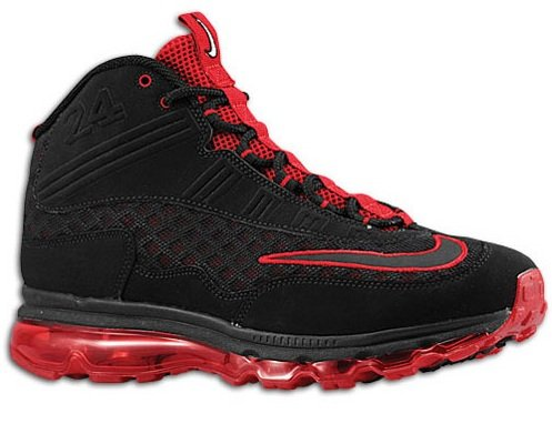 Nike Air Max Jr - Black/Black-Varsity Red