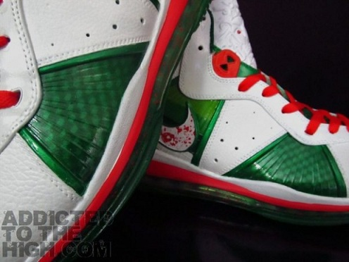 "Nike Air Max Lebron 8 ""Big O"" Customs"