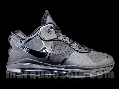 """Nike Air Max Lebron 8 V/2 Low """"Blackout"""" - New Images"""