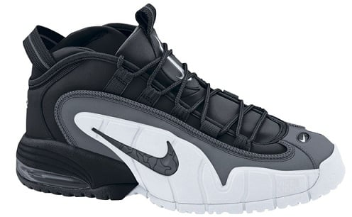 Nike Air Max Penny 1 - Black/Dark Grey-White