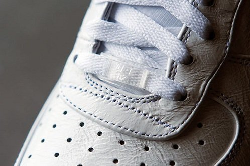 "Nike Dunk High & Air Force 1 Low ""White Pack"" - A Closer Look"