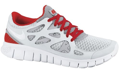 Nike Free Run+ 2 - White/Grey/Red