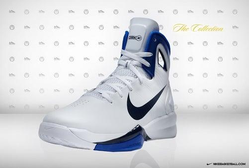 "Nike Hyperdunk 2010 - Dirk Nowitzki ""Home"" PE"