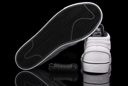 Nike SB Stefan Janoski Mid - White/White-Black