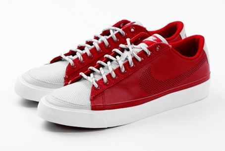 Nike Sportswear Blazer Low - Red/White