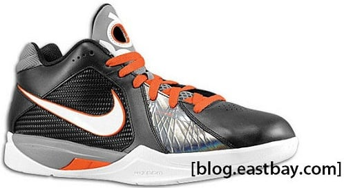 Nike Zoom KD III - Black/White/Team Orange