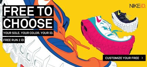 Nike iD Free Run 2