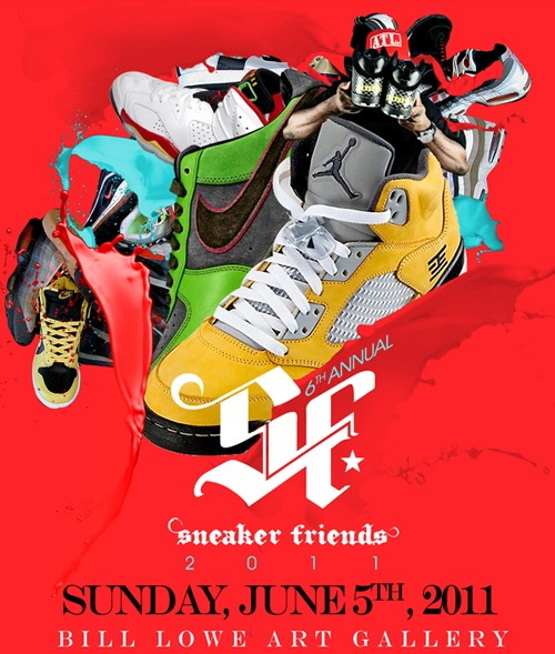 Sneaker Friends 2011 Set For June 5th