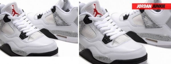 air jordan retro 4 fake