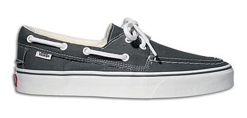 Vans Zapato Del Barco - Pewter/White