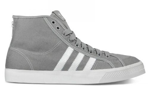 "adidas Originals Nizza High ""Zip"" - Denim & Metallic Silver"