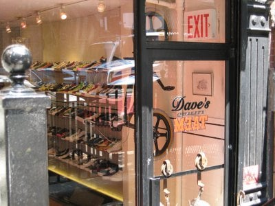 Daves Quality Meats DQM Sneaker Store