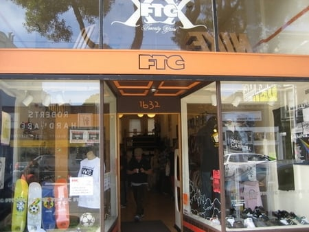 FTC San Francisco Sneaker Store