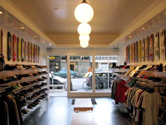 Huf San Francisco Sneaker Store