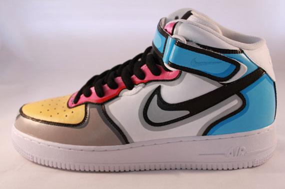 Nike-Air-Force-1-Mid-'Homer-Simpson'-Custom-03
