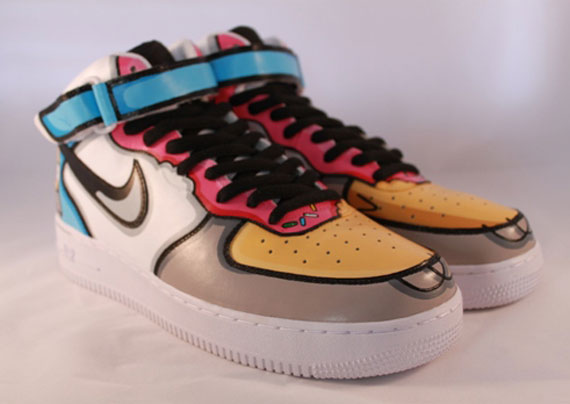Nike-Air-Force-1-Mid-'Homer-Simpson'-Custom-04