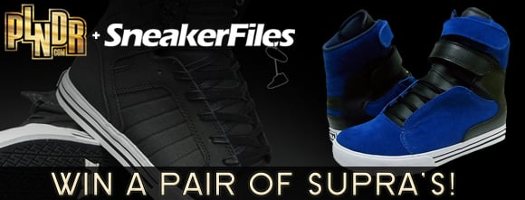 PLNDR x SneakerFiles: Win a Pair of Supras