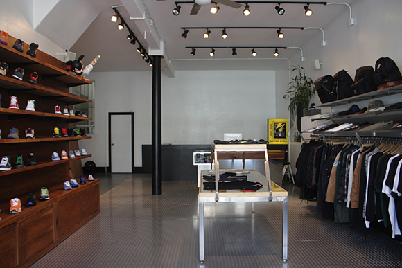 The Darkside Initiative Sneaker Store