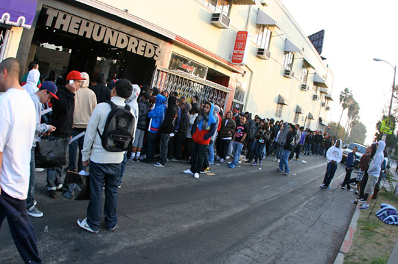 The Hundreds Los Angeles Sneaker Store